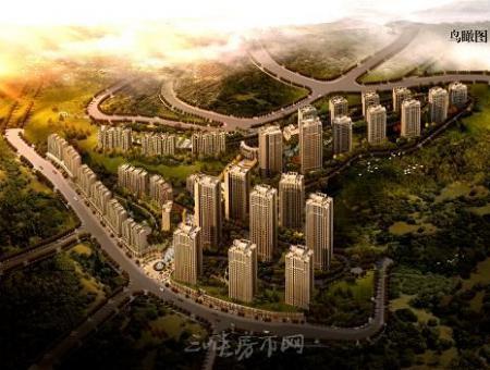 万州锦绣三峡效果图