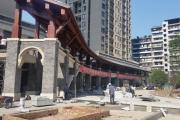 海成·茶庄印象6月工程进度