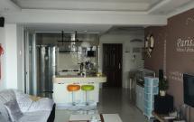 三峡医院附近  锦江金都  精装 两室 半年起租 随时看房